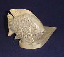 Door Stopper - Wooden Fish Door Stop - Fish Doorstop - White Wash Finish