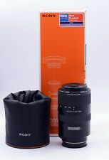 SONY SAL70300G 70-300mm F/4.5-5.6 G SSM LENS FOR SONY ALPHA A-MOUNT DSLR CAMERAS