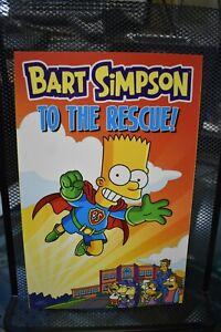 Bart Simpson To The Rescue Bongo Comics TPB BRAND NEW Simpsons Matt Groening