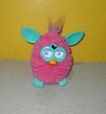 Hasbro Furby Boom 2012 Bright Pink Teal A3120 Interactive Electronic Talking Dig