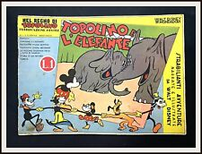⭐ TOPOLINO E L'ELEFANTE - Regno di Topolino Disney # 1 -1935- DISNEYANA.IT ⭐