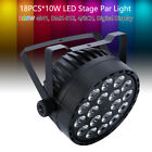 RGBW 4in1 DMX 18x10w LED Par Light Live Show Concert Stage Wall Washer Decor New