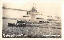 Guantanamo Bay Cuba Belmont Cup Race Real Photo Vintage Postcard Aa9929