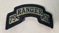 U.S. Army Special Troops Battalion 75th Ranger Regulation OCP Patch W/Fastener
