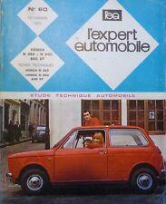 Revue technique HONDA N 360 N 600 N 600 GT RTA N° 60 1970