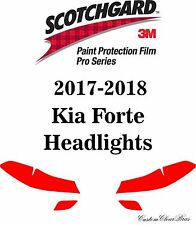 3M Scotchgard Paint Protection Film Pro Series Clear Bra Fit 2017 2018 Kia Forte