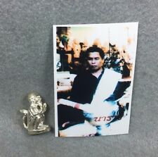 Statue 4 EARS 5 EYES Ajahn Tawee Thai Buddha Amulet Holy Charm Lucky gambling