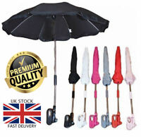 New Baby Pesci Universal Sun Rain Umbrella Pram Pushchair Canopy Parasol Shade
