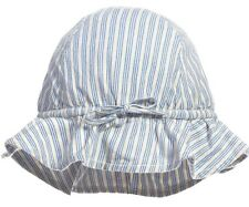 CARAMEL BABY AND CHILD STRIPED ATLANTIS SUN HAT EXTRA SMALL