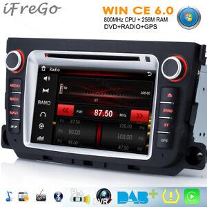 """Für Mercedes Benz Smart 7"""" HD Autoradio Navigation USB GPS DVD MP3 Karte Radio"""