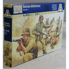 1/72 MILITAIRE WWII 50 Figurines soldats ALLEMANDS AFRIKAKORPS ref 6076