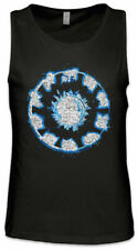 Iron Arc Reactor hommes Tank top symbole Tony Sign Logo on fortement symbole
