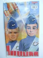 Thunderbirds characters / vehicles table cover (1.8m x 1.2m) for party – BTE4039