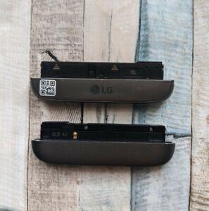 Genuine LG G5 H850 GREY Charging Port with Loud Speaker Bottom Cover