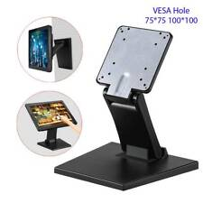 "LCD Monitor Desk Stand Adjustable Wall Mount TV Computer Riser 10""~22"" Screen"