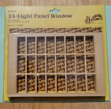 Houseworks Dollhouse 24-Light Panel Window #5007