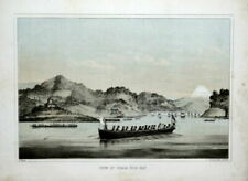 Lithograph Original Topographical Art Prints