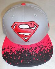 Superman New Era 9Fifty M L Strapback Adjustable Cap