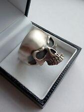 Anello in argento 925 teschio