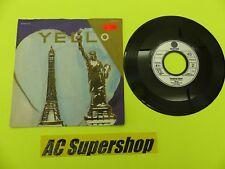 """Yello lost again / pumping velvet - 45 Record Vinyl Album 7"""""""