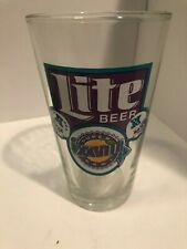 NFL SUPER BOWL XXVIII MILLER LITE 16 oz tumbler glass
