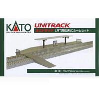 Kato 23-141 UniTrack Platforme Tram&Trains Légers / LRT Low Platform - N