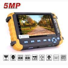 5 inch TFT LCD HD 5MP TVI AHD CVI CVBS Analog Security Camera Tester Monitor