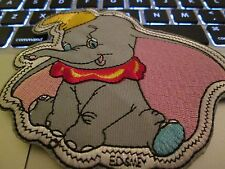 Iron on embroidered applique- Dumbo- Disney- 1 each-4x5- nice size