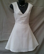 Size 10 NEW+TAG Short Jacquard Dress Casual Evening Holiday Party FREE POSTAGE