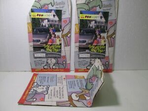 McDonald's Set Of 3 TY Teenie Beanie Babies Happy Meal Bag  t5560