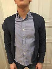 H&M Cardigan Pullover Strickjacke Strick Jacke Gr. S blau 100% Baumwolle wie NEU
