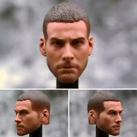 "1/6 Scale Head Sculpt Buzzcut Jake Gyllenhaal Carving For 12"" Figure Male Body"
