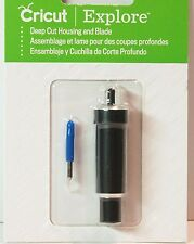 Cricut Explore Deep Cut Housing & Blade #2002293 New & Sealed - Scrapbooking