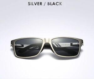 Polarized Fishing Sunglasses Carbon fiber Magnesium frame mirrored UVA UVB SIBLK