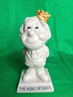 Vintage 1973  W & R. Berries Co. The King of Dads Statue Figurine  9067  7
