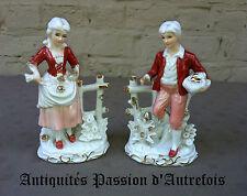 B20140220 - Couple de figurines en porcelaine 1950-70 - Très bon état