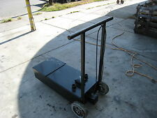 OIL HOLDING OR TRANSPORT CART, CASTERS, 900 ITEMS ON E BAY