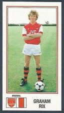 PANINI FOOTBALL 83-#015-ARSENAL & ENGLAND-GRAHAM RIX