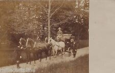 # VILLANOVA DI LIVENZA- Fotocartolina - PRIMAVERA 1905