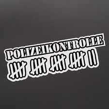 polizei aufkleber ebay. Black Bedroom Furniture Sets. Home Design Ideas