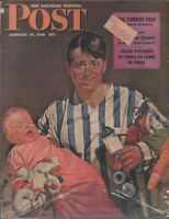 Saturday Evening Post January 27 1945 Howard Scott Norman Rockwell 102518DBPost