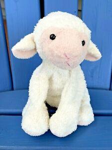 Mary Meyer Sweet Rascals White Lamb Lola Plush Bean Bag Stuffed Animal Lovey
