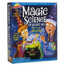 Scientific Explorer Magic Science Kit For Wizards Only Create your own Wizard