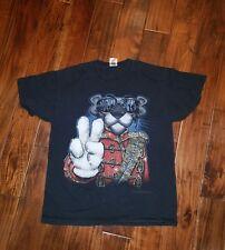 Pink Panther Cartoon Michael Jackson Thriller T shirt Vintage XL