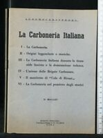 LA CARBONERIA ITALIANA. Anzalone. Mercurio.