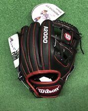 """Wilson A2000 11.5"""" DP15 SuperSkin Pedroia Infield Baseball Glove WTA20RB20DP15SS"""