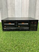 Vintage Akai Hifi Retro Stereo Double Cassette Deck HX-M30W Hi Spec Tape Deck