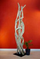 200 cm Skulptur Liane Dekoration Holz Kunst Treibholz Schwemmholz natur Tropisch