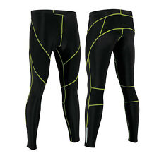 Team Men's Pro Cycling Long Pants Tights Legging Bicycle Bike Padded Trousers