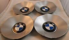 BMW Motors Wheels Silver Custom Wheel Center Caps Set of 4 # 141218 10